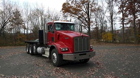 2009 kenworth truck 2009 kenworth t800 flatbed truck for sale 324 521 miles