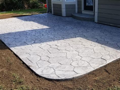 New Patio by Custom Concrete Patios Indy Decorative Concreteindy
