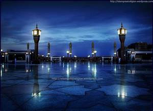 Beautiful Blue View of Masjid Nabawi | Top Beautiful ...