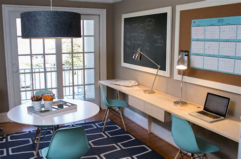 Bureau Etroit Design by Creative Home Office Decorating Ideas