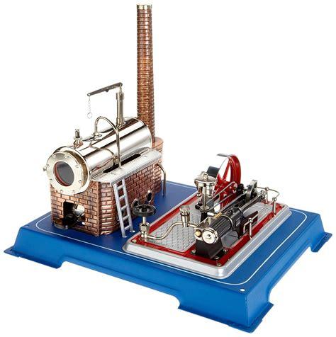 review wilesco  steam engine model steam