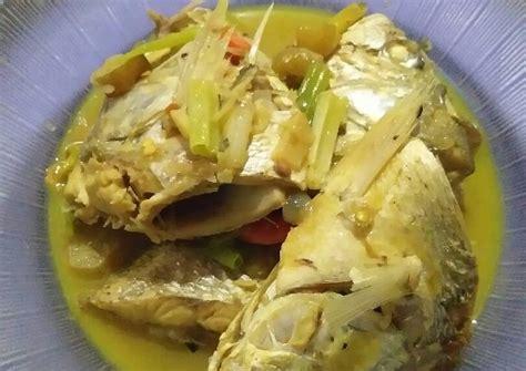 Resep masakan nusantara ikan kuah kuning khas maluku. Resep 74.Ikan kakap kuah kuning oleh Murnasih - Cookpad