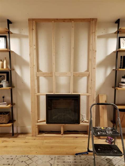 diy electric fireplace   tutorial kismet house