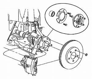 2003 Chrysler Pt Cruiser Retainer  Right Or Left  Hub