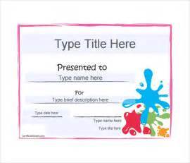Blank Gift Certificate Template Free Download