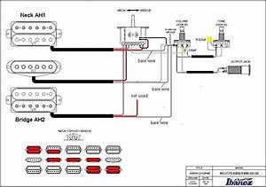 2 Wire Dimarzio Ah1  Ah2 H Bucker Wiring Pls Help