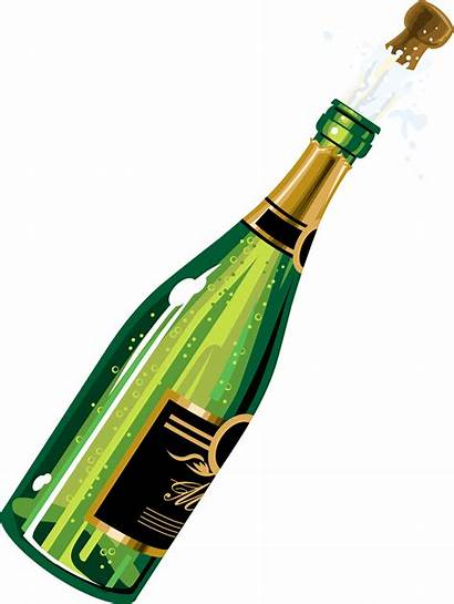 Champagne Bottle Clipart Cliparts Pop Attribution Forget