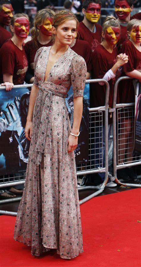 Emma Watson's Beauty Secrets Revealed Eye Drops, Facials