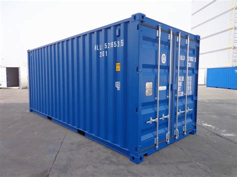 20ft Shipping Container Dry Van  Alconet Containers