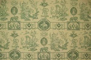Toile De Jouy : tissus toile de jouy diane chasseresse ~ Teatrodelosmanantiales.com Idées de Décoration