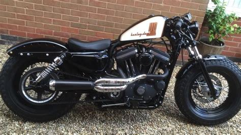 Harley Sportster 48 Forty Eight Rough Crafts Custom Build