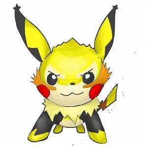 Mega Pikachu Evolution | www.imgkid.com - The Image Kid ...