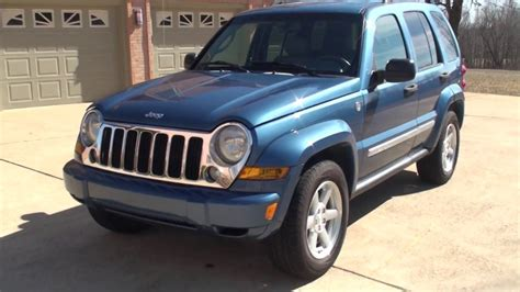 Hd Video 2006 Jeep Liberty Limited 4x4 Blue Used For Sale