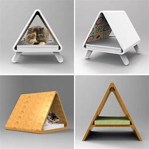 Modern Cat Furniture Concepts from Joshua Thorpe • hauspanther