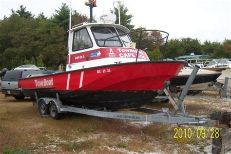Boat Trailers For Sale Boston Ma by 1989 Boston Whaler 25 Frontier Guardian Hull Trailer
