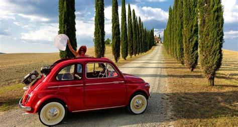 top  road trips  italy italian travels fiat