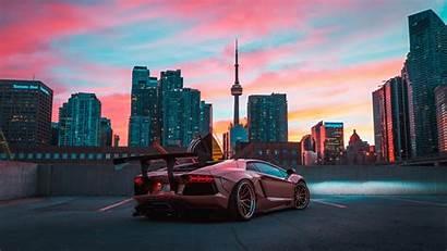 Lamborghini Aventador Cityscape 4k Solve Problems Brake