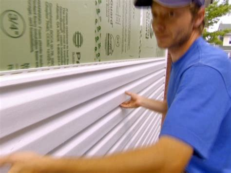 tips on installing vinyl siding home exterior projects