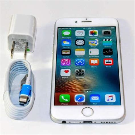 total wireless apple iphone  silver  lte refurbished