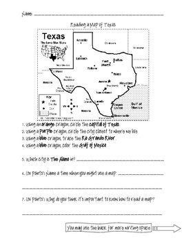 reading a map of social studies