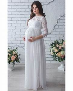 lace maternity dressphoto shootwhite chiffon dress With maternity dresses for summer wedding