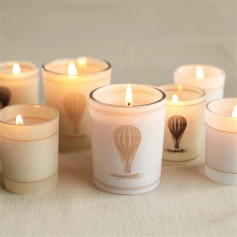 vintage style hot air balloon candle wraps clip art