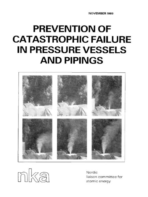 pressure vessels | Fractura | Mecánica de fractura