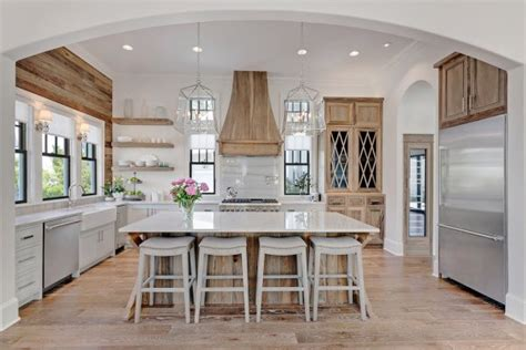 kitchen stove island 20 farmhouse kitchen ideas for fixer style