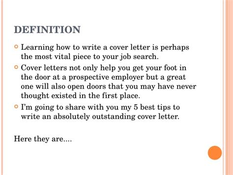 What Is A Cover Letter Definition by Exles Of Cover Letters