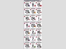 Calendario de Fórmula1 2018 Fechas, horario y circuitos