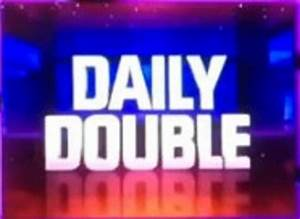 Image Jeopardy Season 28 Daily Double Logojpg Game