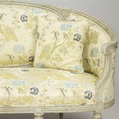 canap style vintage louis xvi style antique painted canapé settee