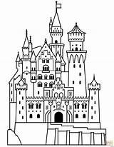 Castle Bouncy Drawing Getdrawings Draw Coloring sketch template