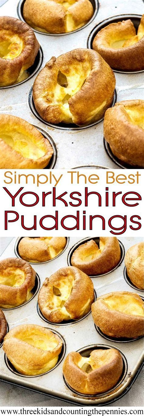 Simply The Best Yorkshire Pudding / Yorkies / Popover ...