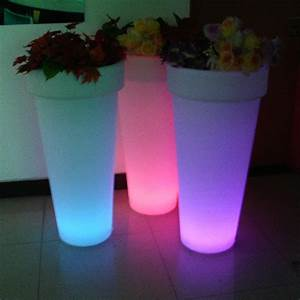 Pot Fleur Lumineux : pot de fleurs lumineux 95 x 47 cm sur grossiste chinois import ~ Nature-et-papiers.com Idées de Décoration