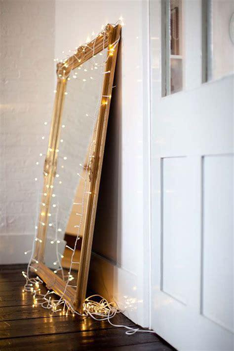 diy lighted mirror 25 cool diy string light ideas home design and interior