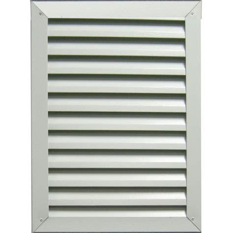 aluminum attic concept louvers gvart400 rectangle aluminum gable vent