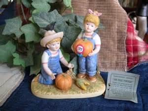 home interior denim days home interiors homco denim days quot the prize pumpkin quot figurine w tag 1531 ebay