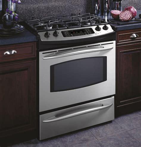 ge profile  dual fuel   range jsshss ge appliances