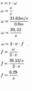Frequenz Aus Wellenlänge Berechnen : kreisbewegung und zentripetalkraft physik ~ Themetempest.com Abrechnung