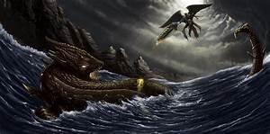 Leviathan Vs Gabriel by MuratCALIS on DeviantArt