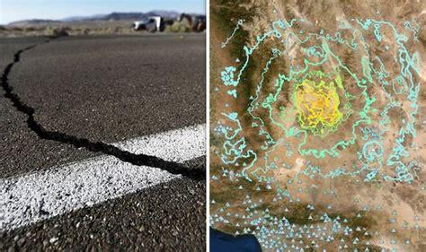 california earthquake today   quakes hit