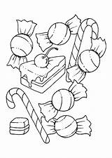 Candy Coloring Pages Printable Chocolate Lollipop sketch template