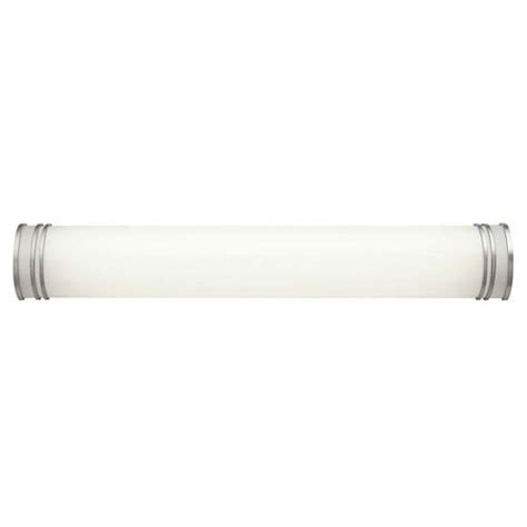 36 Fluorescent Light Fixture by Kichler White 36 Inch Two Light Fluorescent Bath Vanity