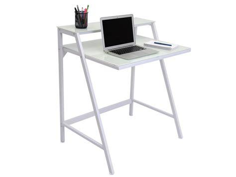 2 tier computer desk lumisource 2 tier computer desk white home woot