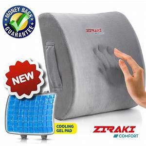 amazoncom ziraki lumbar support memory foam cushion 5 With best pillow for sweating