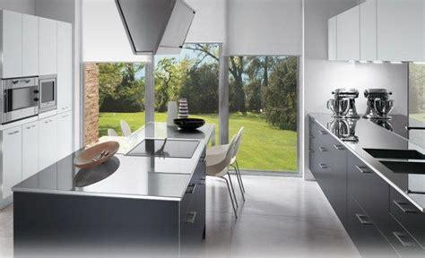 modele de cuisine avec ilot central modele de cuisine avec ilot central deco maison moderne