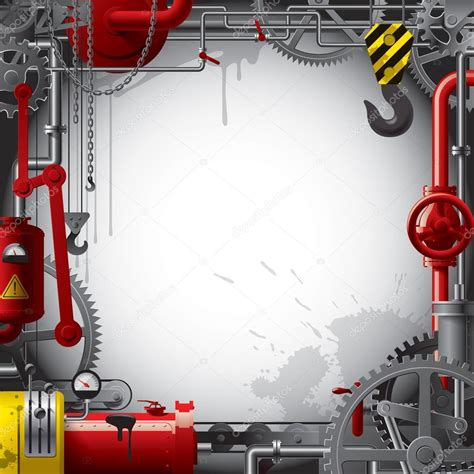 Engineering background — Stock Vector © maystra #17465075