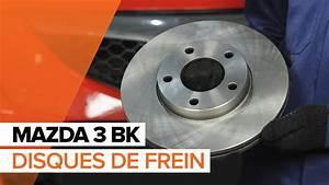 Plaquette De Frein Et Disque : comment remplacer des disques de frein et plaquettes de frein avant sur une mazda 3 bk youtube ~ Medecine-chirurgie-esthetiques.com Avis de Voitures