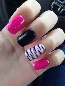 22+ Zebra Nail Art Designs, Ideas | Design Trends ...